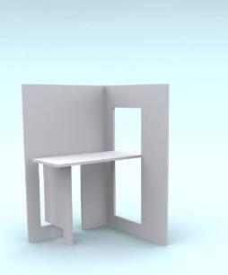 Мебель трансформер из единого листа