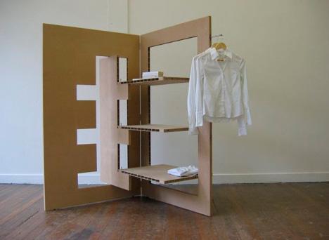 Мобильный шкаф трансформер. Простое и дешевое решение для холостяка