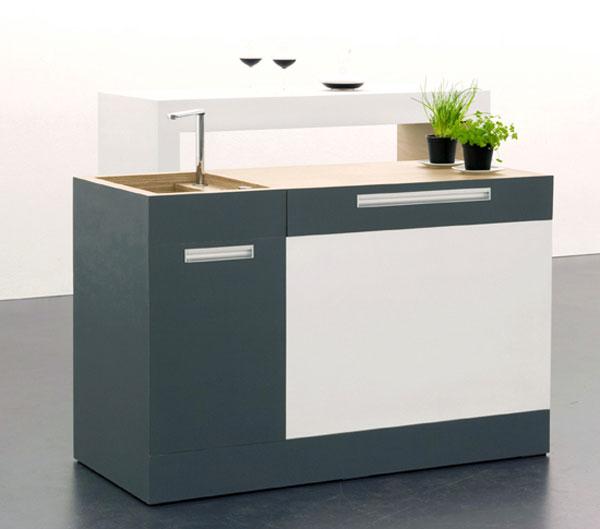 Модульные решения для небольшой кухни