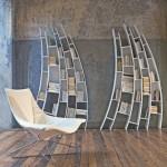 Итальянская мебель. Полки-стеллажи оригинальной формы