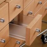 Дизайнерская мебель; стеллаж с вытянутыми ящиками