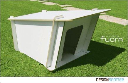 Простая в изготовлении будка для собаки