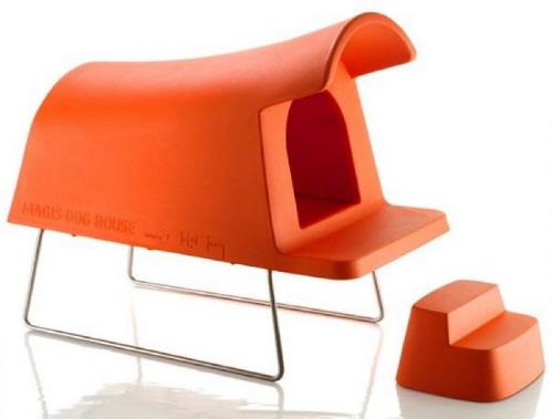 Мебель для домашних питомцев. Пластмассовая будка.