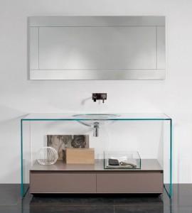 итальянская сантехника из стекла