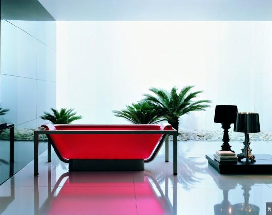 ванна из акрила фотография