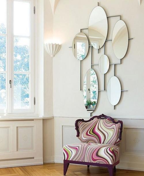 Оригинальные зеркала в интерьере