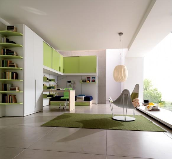 Дизайн для молодежной комнаты