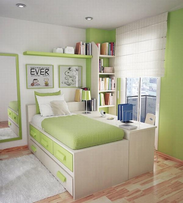 Небольная комната подростка