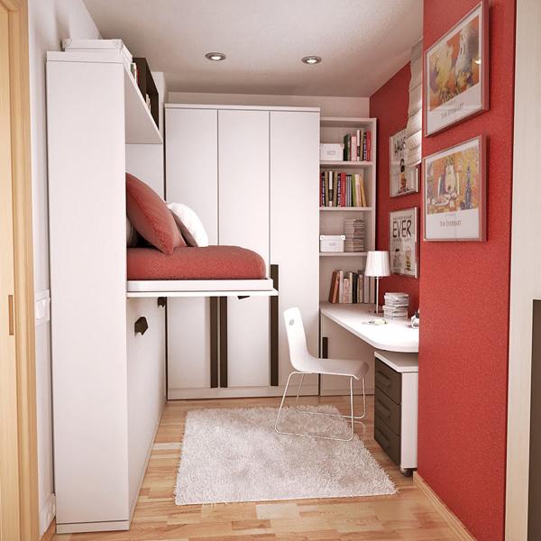 Идеи небольшой комнаты подростка