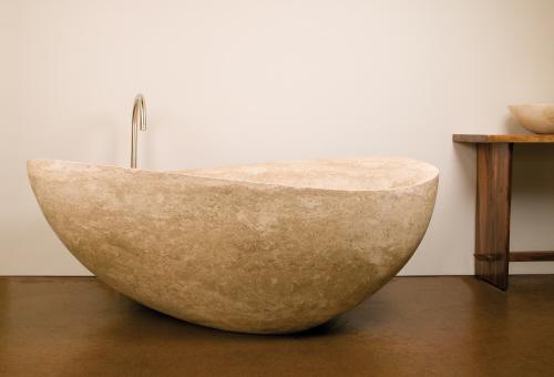 ванна из камня фото
