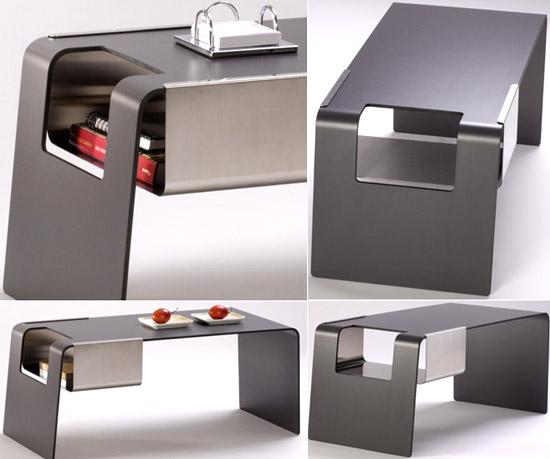 Современный рабочий стол оригинальной конструкции
