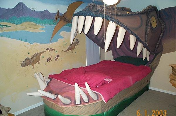 Детская кровать своими руками для будущего палеонтолога