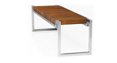Дизайн скамейки