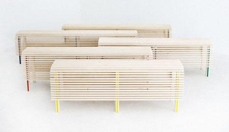 Деревянная скамека фото. Мебель своими руками.