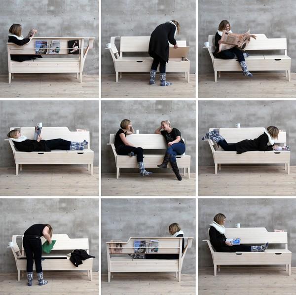 Скамейка для кухни