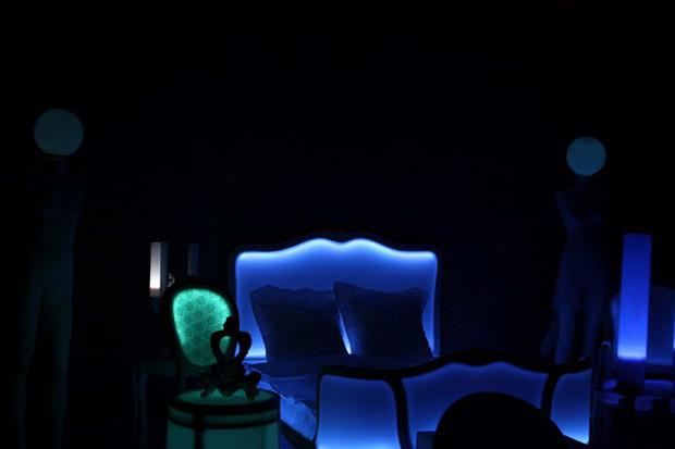светящаяся кровать фото