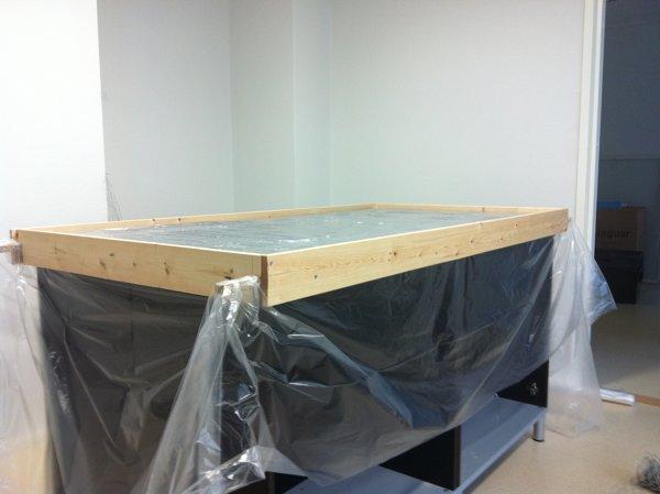 Процесс изготовления мебели из бетона