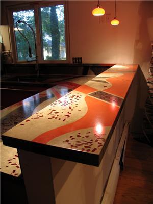 бетонная мебель фото