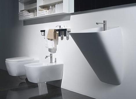 Оригинальная итальянская сантехника. Раковина для ванной.