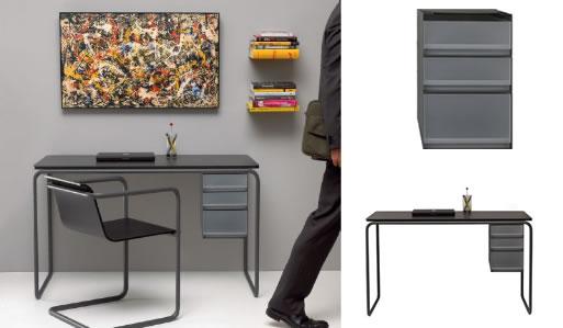 минималистичный компьютерный стол