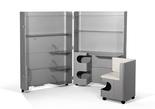 Компактная мобильная мебель