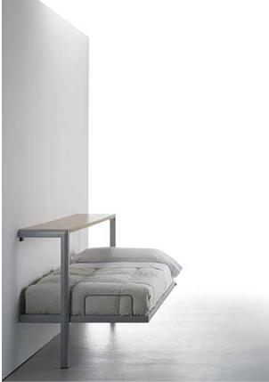 откидная кровать простой конструкции