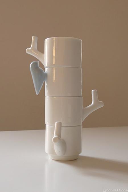 Керамические кружки от дизайнера Криса Коенса
