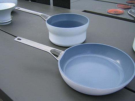 Посуда с керамическим антипригарным покрытием