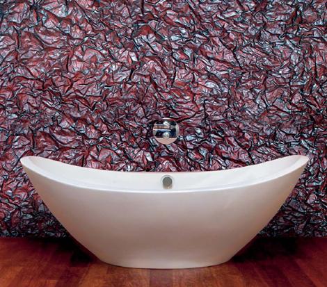 Водостойкие декоративные панели для ванной.