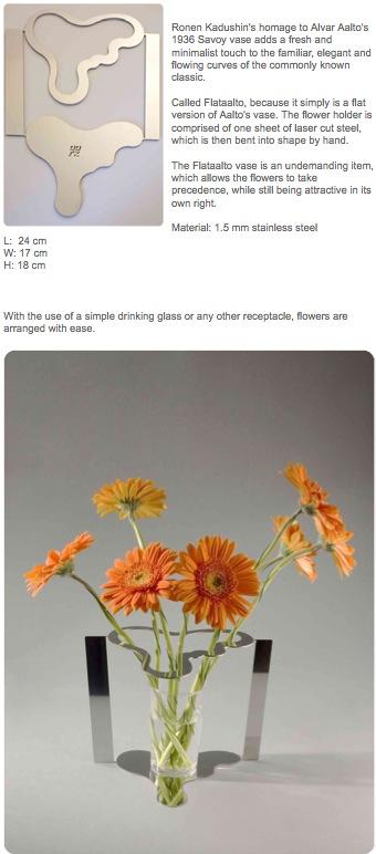 """Оригинальная ваза для цветов """"Сделай сам"""", а точнее: """"Согни сам"""""""