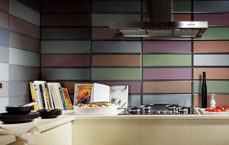 Итальянская керамическая плитка для кухни. Кафель.