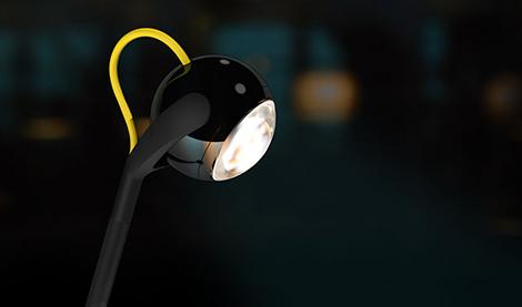 LED лампа из коллекции 2010 года Падающая Звезда
