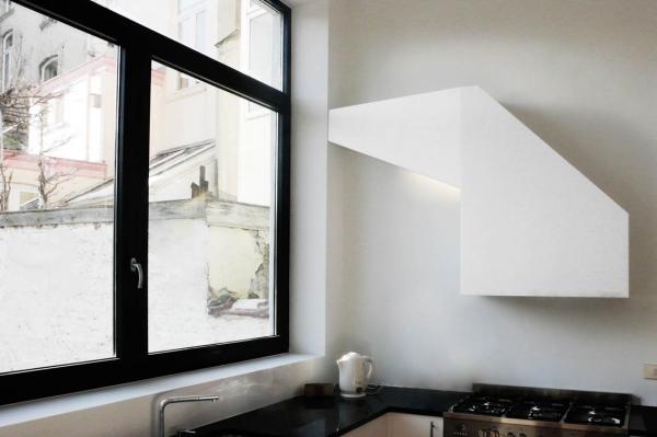 Черный цвет в дизайне кухни