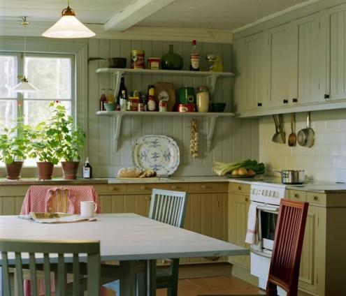 Дизайн небольшой кухни. Элегантность и функциональность.