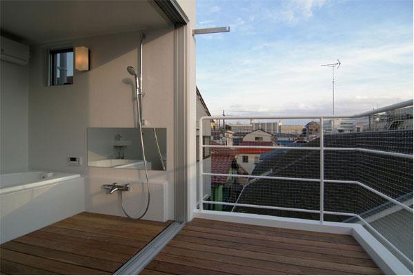 Вид с балкона. Компактный дизайн.