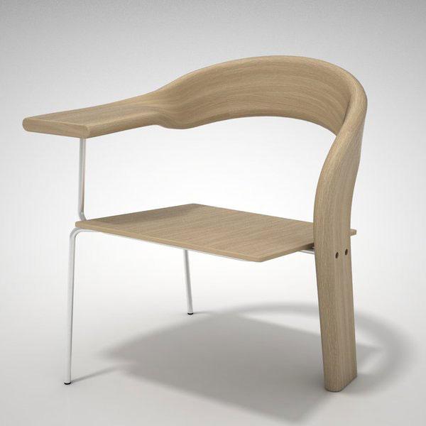 Кухонный стул оригинальной формы фото