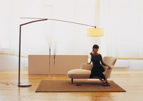 Напольная лампа с ЛЕД сетильником