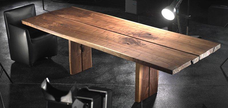 Столешница из массива натуральной древесины