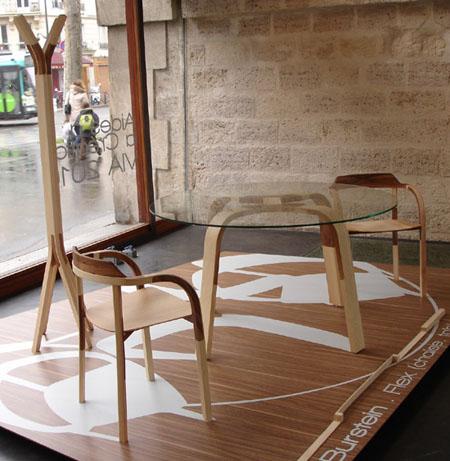 Деревяная мебель от израильского дизайнера