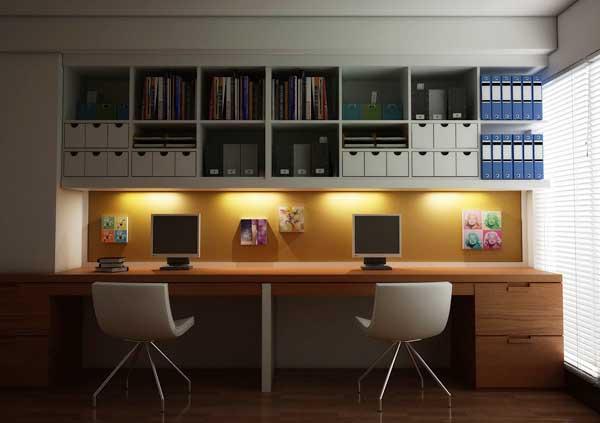 Как сделать рабочее место на дому удобным и красивым. Советы и удачные примеры.