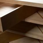 Корпусная мебель. Благодаря оригнальной конструкции, ящики комода выдвигаются под углом.