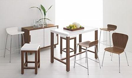 Мебель для кухни. Обеденный стол, табуретки, стулья.