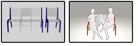 Идеи для маленькой комнаты. Мебель трансформер, Складной стул.
