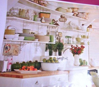 Пример организации кухонного пространства.