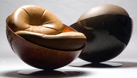 Удобное кресло кожаное. Настоящее украшение домашнего интерьера.