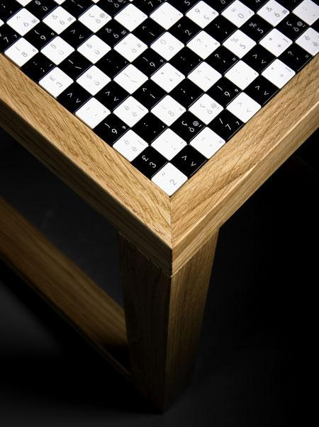 Оригинальная мебель инкрустированная плиткой. Авторский дизайн.