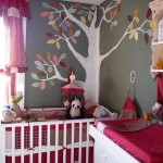 Деткая комната. Пример. Рисунок на стене