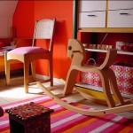 Детская комната в ярких тонах