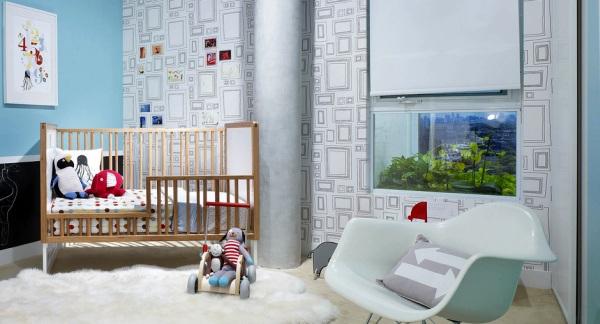 Пример дизайна детской