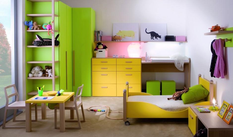 Детская комната. Кровать-чердак.